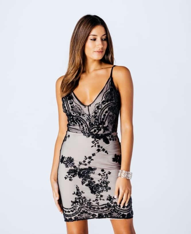 Laralei Sukienka Czarna_DRS7156_200