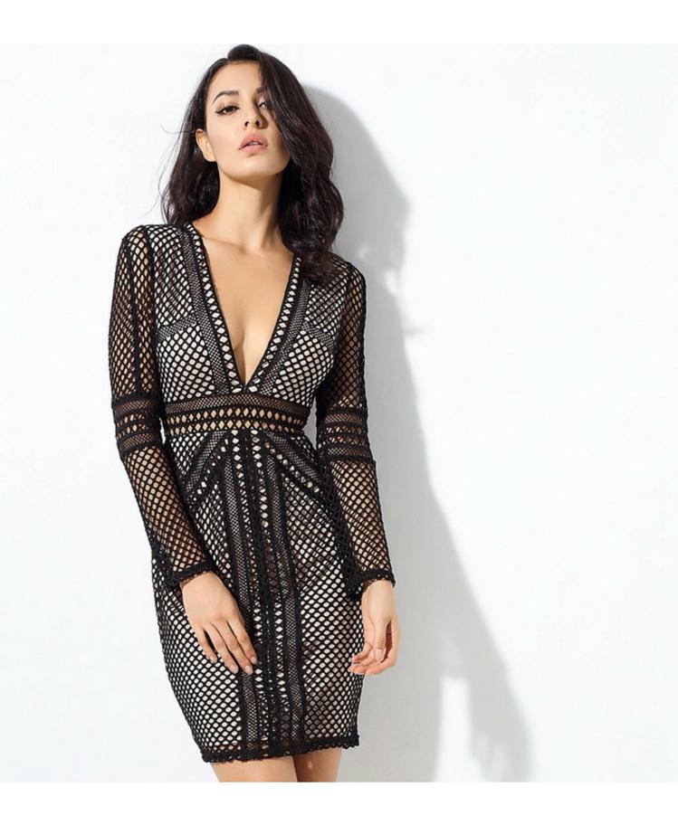 Sukienka Czarna Secret Wish Boutique
