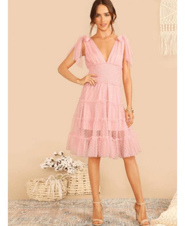 Numini Sukienka Romantyczna Koronkowa