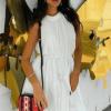 Dellonia Sukienka Biała Mini