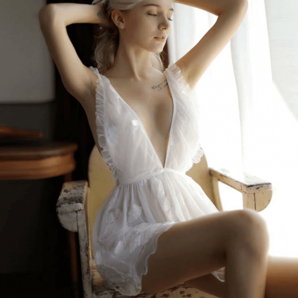 Screenshot_2020-04-07 47 15zł 45% OFF Sexy mus kobiety odzież do snu koronki krótka spódniczka, bez pleców, biały Lolita wy[…]