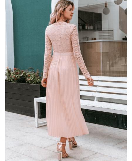 Lilly Sukienka Pudrowy Róż