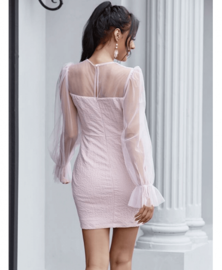 Pelletti Sukienka Koktajlowa Róż