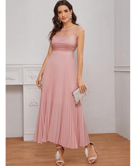 Lauriss Sukienka Pudrowy Róż