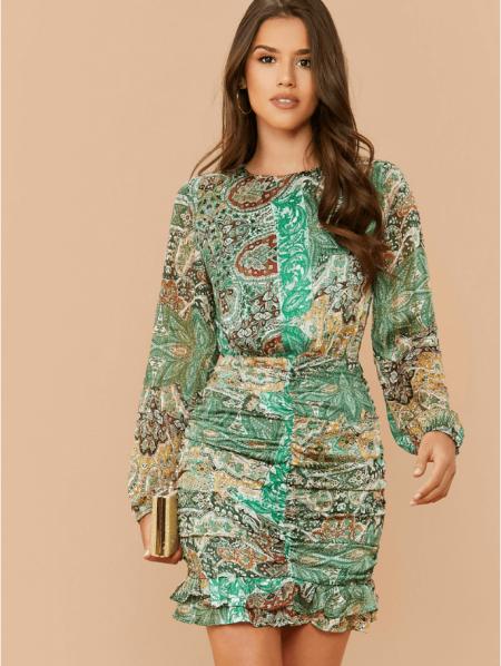 Calla Sukienka Ołówkowa Zielona