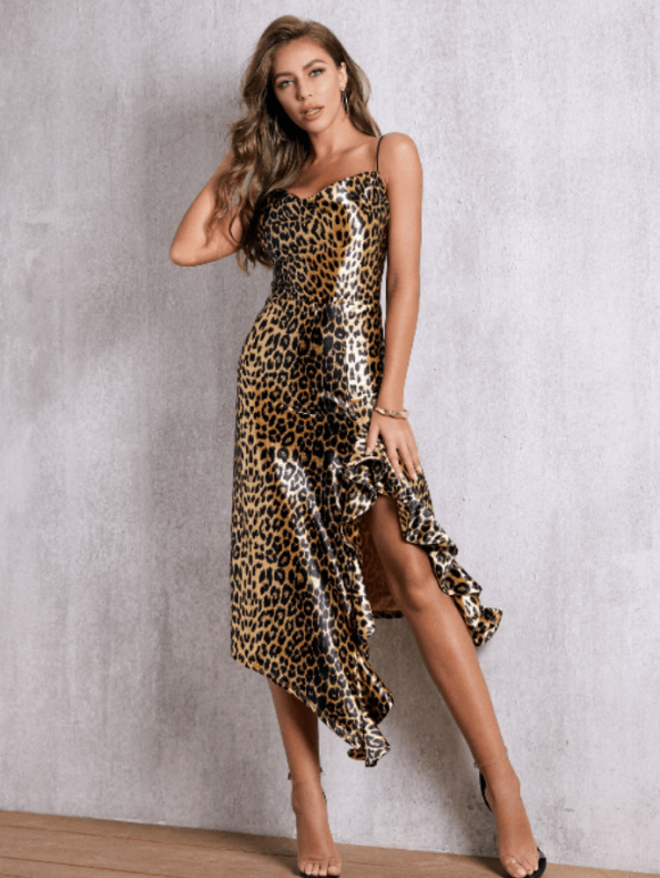 Summith Sukienka w Panterkę