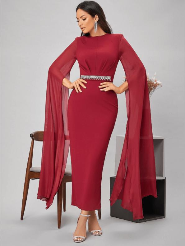 Sindey Sukienka Wizytowa Czerwona