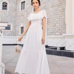 Secret Wish Boutique Sukienka Marynarka Beżowa z Długim Rękawem Mini-6